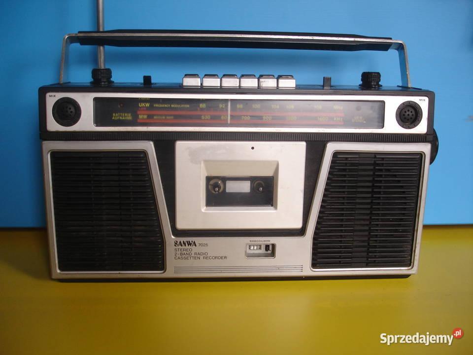 Radiomagnetofon SANWA 7025