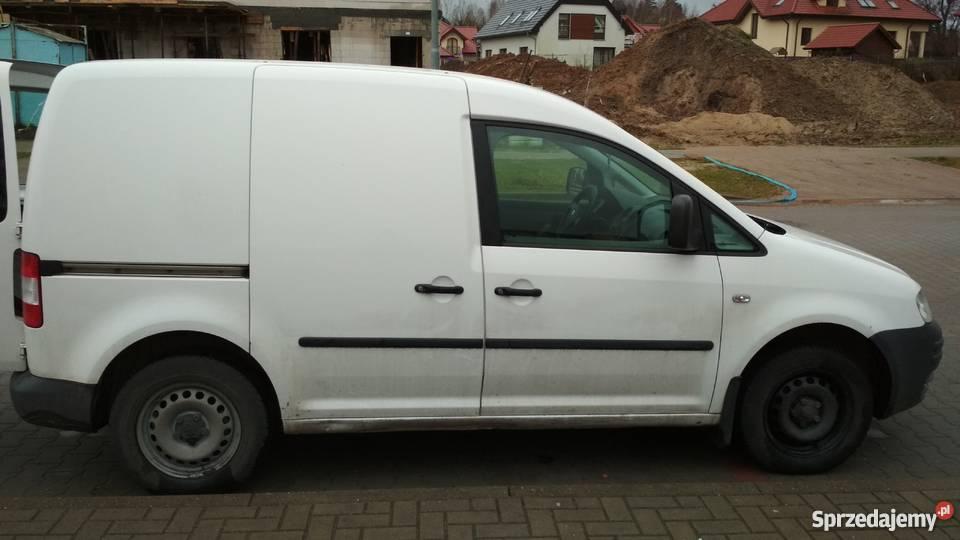 VW Caddy 19 TDI nieuszkodzony