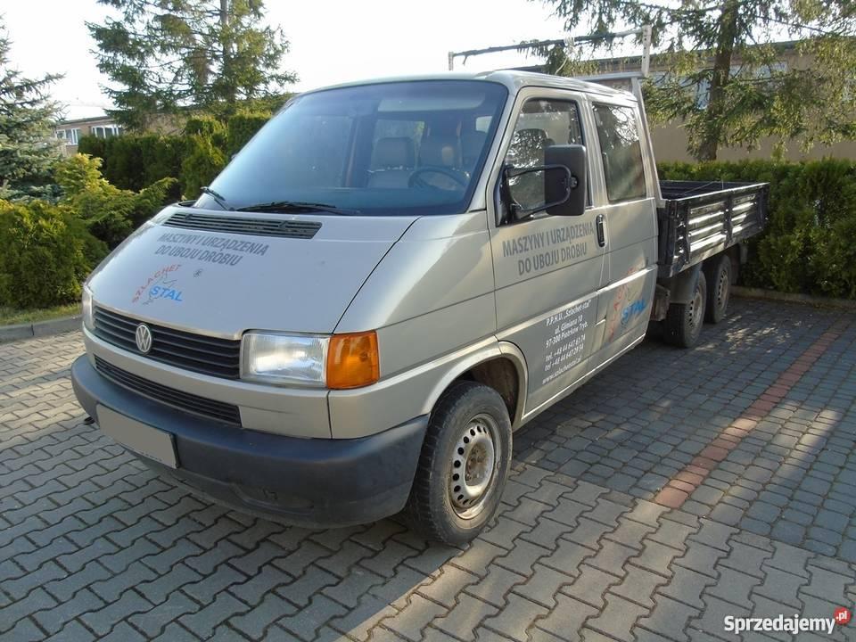 volkswagen transporter t4 doka 2 4 diesel piotrk w. Black Bedroom Furniture Sets. Home Design Ideas
