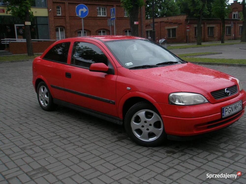 Opel Astra II 1999 16 16V Klima elektryczne lusterka Gniezno