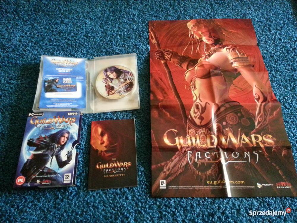 Gra Guild Wars z dodatkami Factions Nightfall i Komputerowe PC Gry Józefów