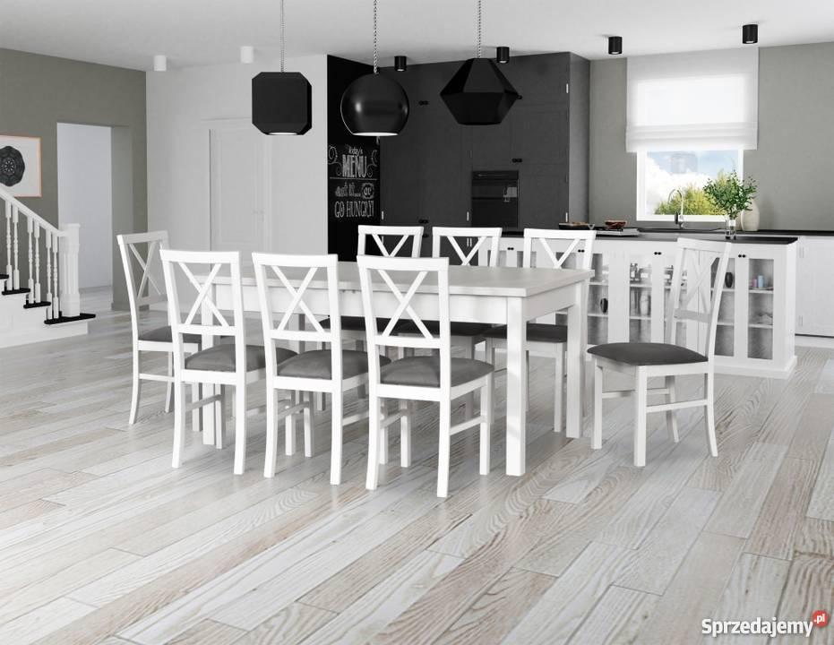 Stół 90/160/200 + 8  Krzeseł--Promocja!