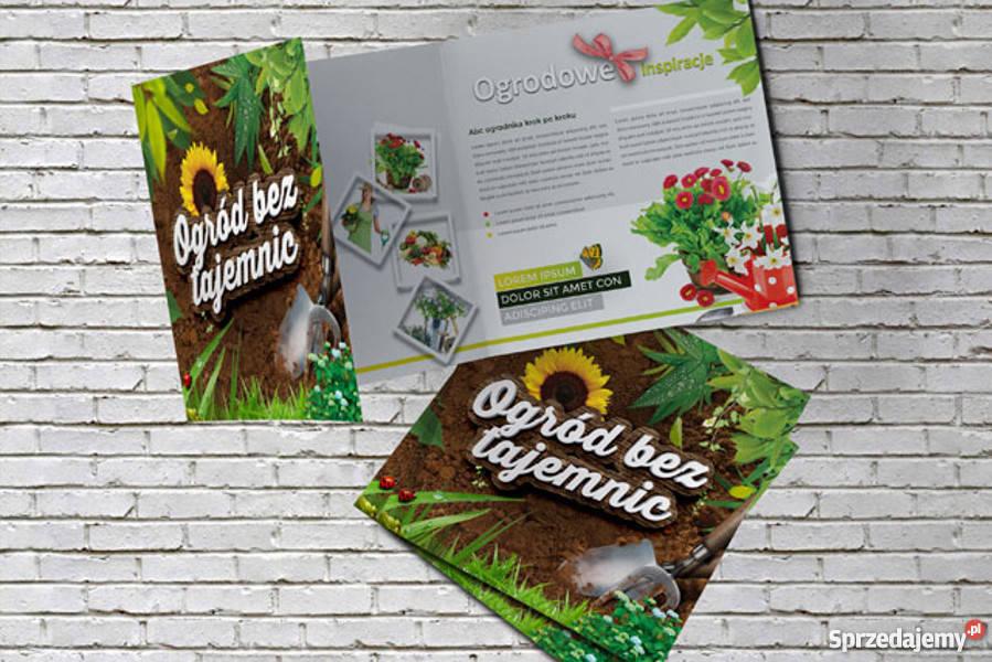 Oryginalny Projekt graficzny broszura ulotka Usługi dla firm Lublin reklama