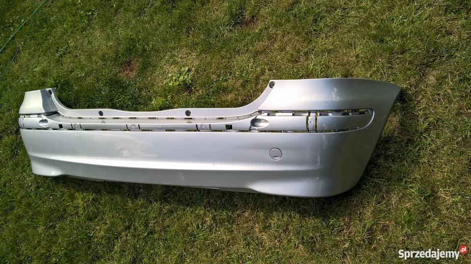Mercedes Aklasa W168 Tylne zderzaki chrom pdc Lubin