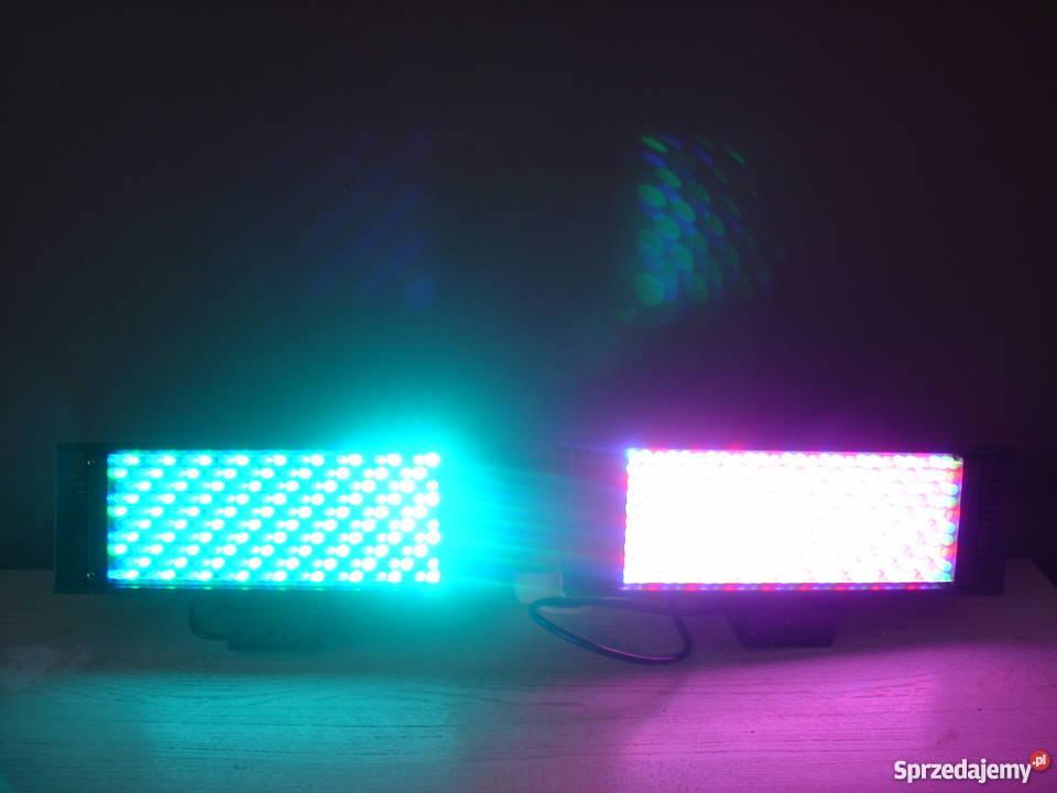 Stroboskop LED DMX pomorskie Kartuzy