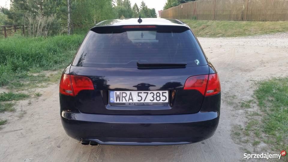 AUDI A4 20 TDI STAN Climatronic Alufelgi OKAZJA diesel Olsztyn