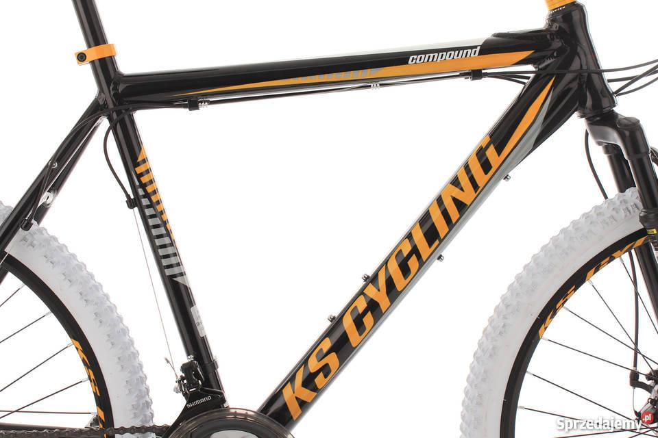 COMPOUND 102M niemiecki rower MTB HARDTAIL ALU Koszalin sprzedam