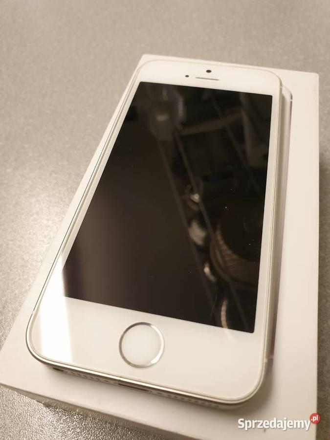 Apple Iphone SE 32GB biały + nowa ładowarka i słuchawki ...
