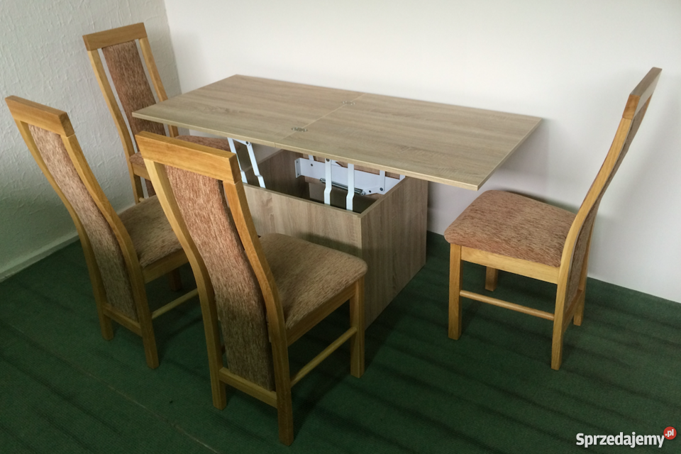 PIKO stół i ława rozkładana, do małego pokoju / mieszkania.