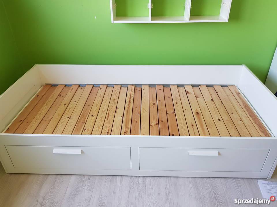 Ikea Brimnes łóżko Rozkładane
