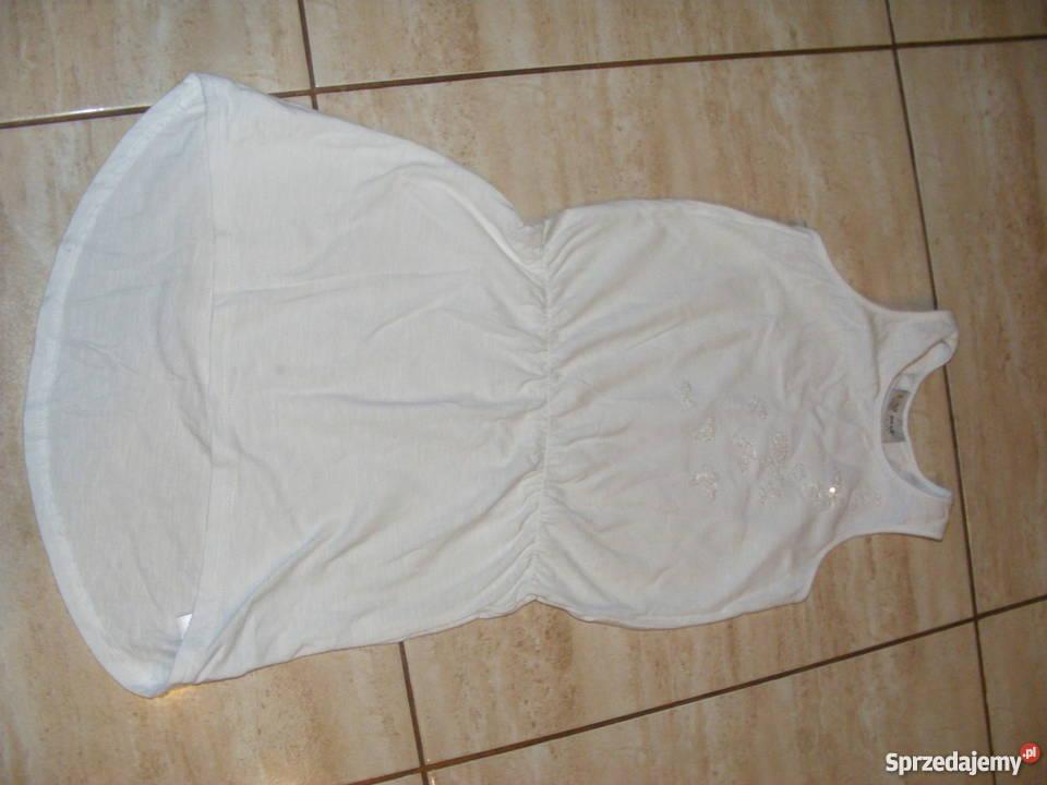 8b69d6b447 Tunika dziewczęca biała Next rozm. 116 cm Częstochowa - Sprzedajemy.pl