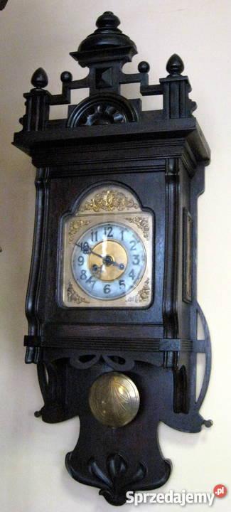 Zegar wiszący secesyjny Poznań