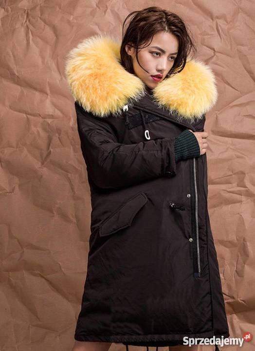 Damska zimowa kurtka puchowa z jenotem S M L