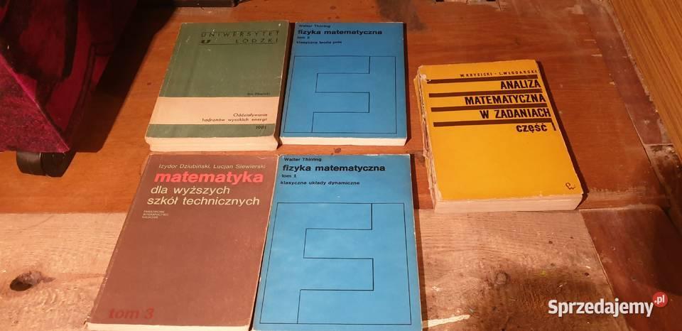 Matematyka, fizyka, angielski, zbiory zadań MATURA STUDIA