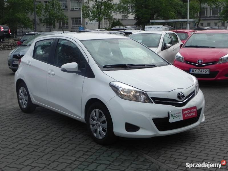 Toyota Yaris 133 2014 Rok Gwarancja Opony Zimowe Warszawa