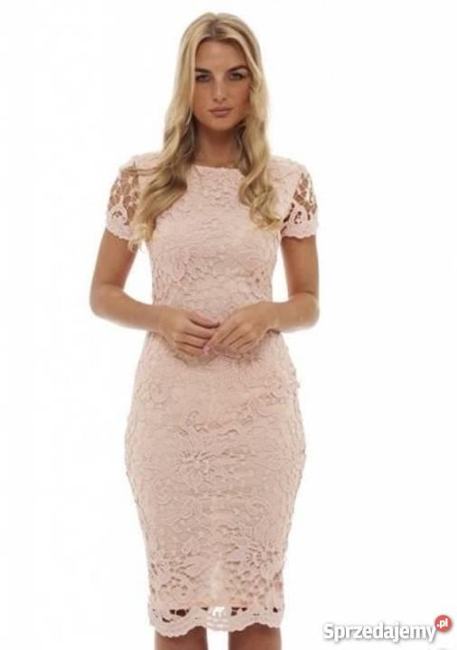 b0e25fe4ed materiał koronka na sukienkę - Sprzedajemy.pl