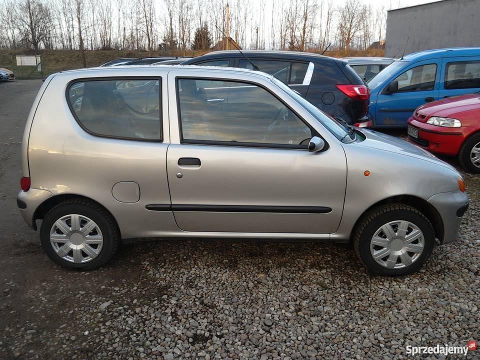 Fiat Seicento SX nieuszkodzony Żnin