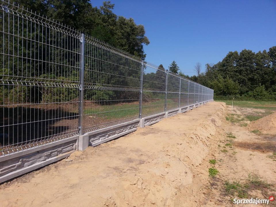 Inteligentny Sprzedaż paneli ogrodzeniowych, podmurówki ,siatek ,montaż ZE23