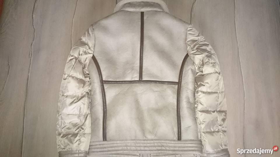 0c7756d3eaaa7 Nowa kurtka pilotka wykończona skóra Kurtki i płaszcze Wrocław sprzedam
