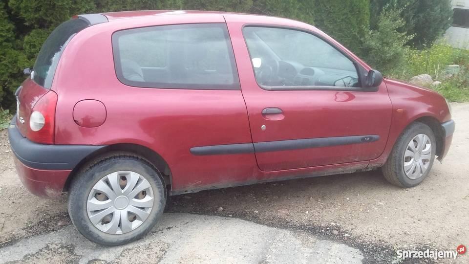 Renault Clio nieuszkodzony Koszalin sprzedam