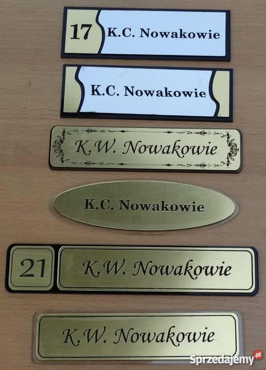 Inteligentny tabliczki na drzwi - Sprzedajemy.pl NK98