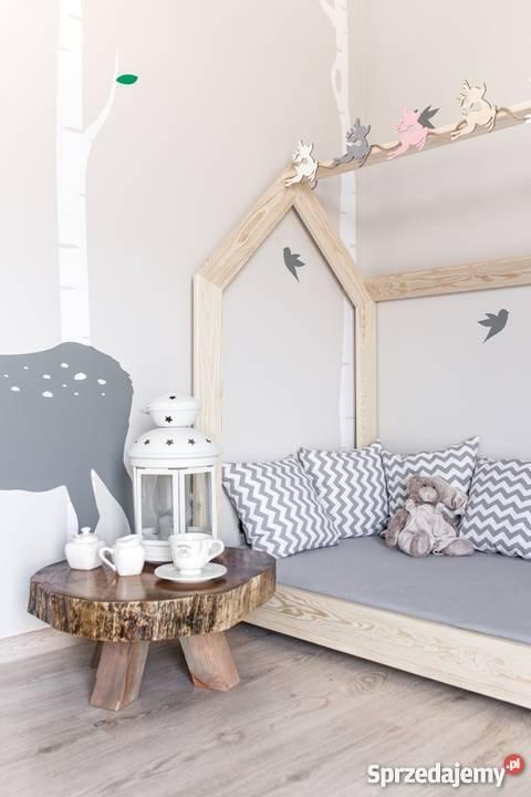 drewniane ko dzieci ce domek skandynawski naturalne sklep warszawa. Black Bedroom Furniture Sets. Home Design Ideas