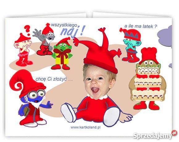 Zaproszenia Urodzinowe Ze Zdjęciem Dziecka Fotomontaże Foto