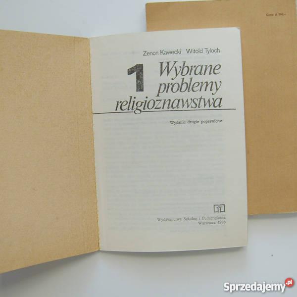Wybrane problemy religioznawstwaZenon Kawecki tradycyjny podręcznik Katowice