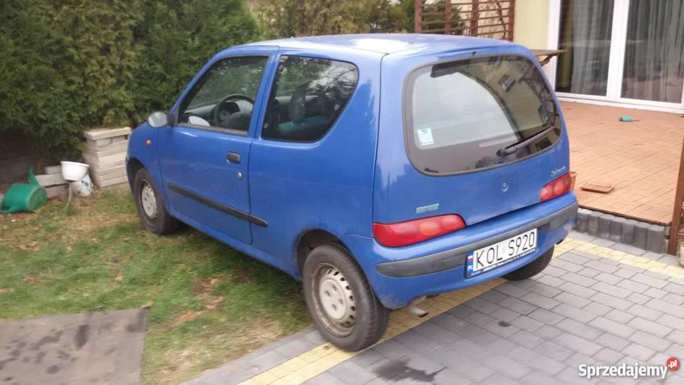 Fiat Seicento 2001 R niebieski Bukowno