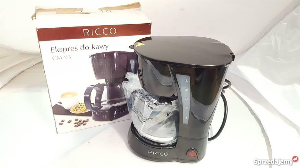 Rewelacyjny SP)LOMBARDOMAT Ekspres do kawy Ricco CM-93 komplet ; 46218 Olecko TU46