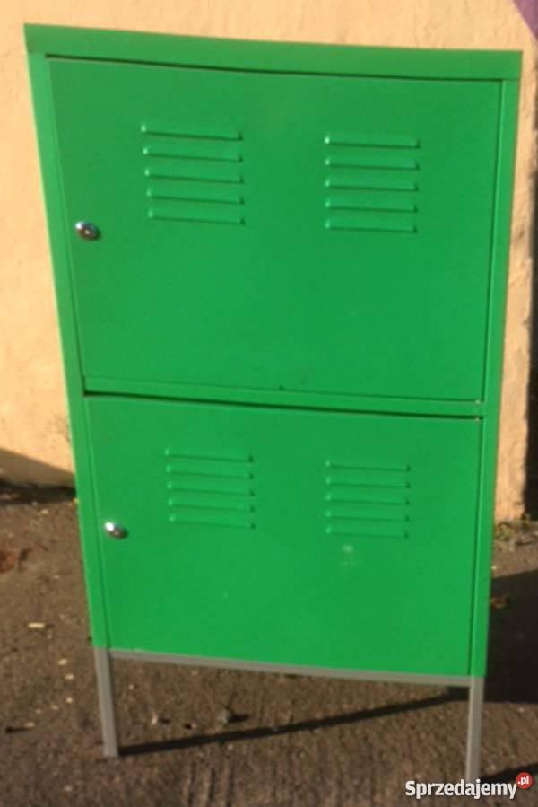 Wybitny szafka metalowa Ikea, blacha malowana na zielono Gdańsk BP73