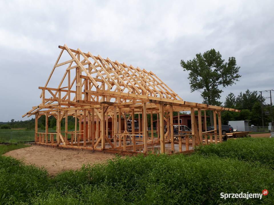 Domy szkieletowe konstrukcje drewniane kanadyjskie szkielety