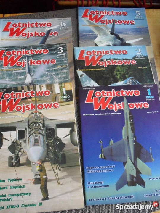 Lotnictwo Wojskowe 6 numerów Wojsko i militaria Warszawa