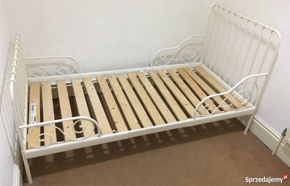2 X łóżko Metalowe Ikea Minnen Rosnące Regulowane Zduńska Wola