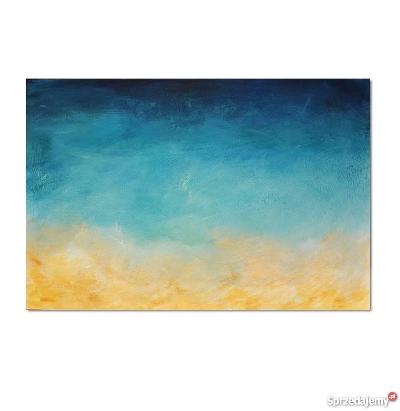 Głębia 11 nowoczesny obraz ręcznie malowany Wyposażenie wnętrz Malbork sprzedam