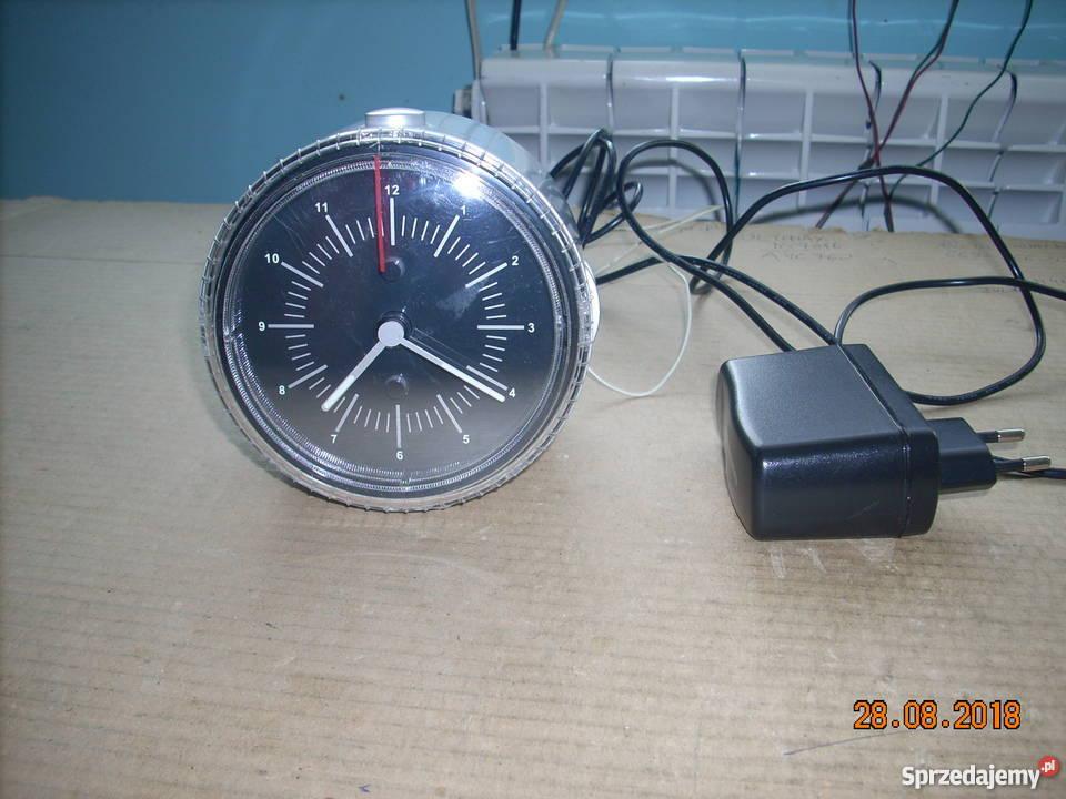 Radio budzik zegar analogowy