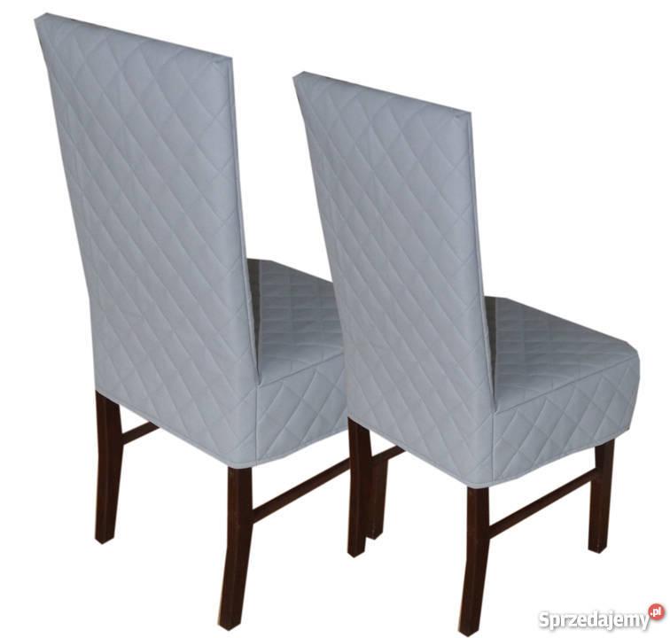 Rewelacyjny Pokrowce na krzesła , szyte na miarę twojego krzesła Ekosoft Kępno YC73