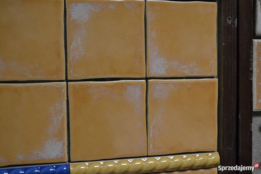 Płytka 10x10 arlekinada pomarańczowa Outlet Zakopane sprzedam
