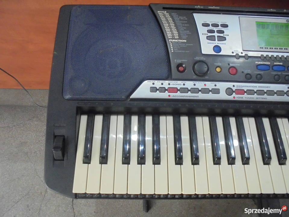 Keyboard Yamaha PSR540 Yamaha śląskie