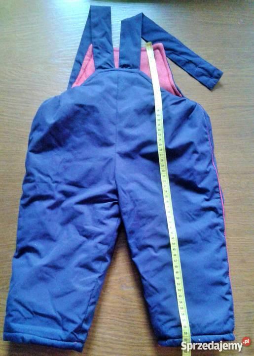 f4fd750fb9 spodnie ogrodniczki ocieplane - Sprzedajemy.pl