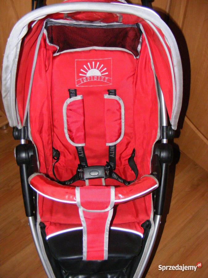 Wózek Spacerowy EuroCart Lira 4 RED Częstochowa