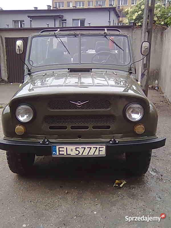 UAZA 31512 nowsza Uaza 469B bezwypadkowy Uaz Zduńska Wola