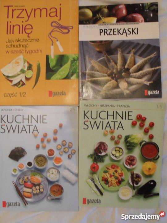 Książeczk kulinarne z gazet 4 sztuki mazowieckie Warszawa