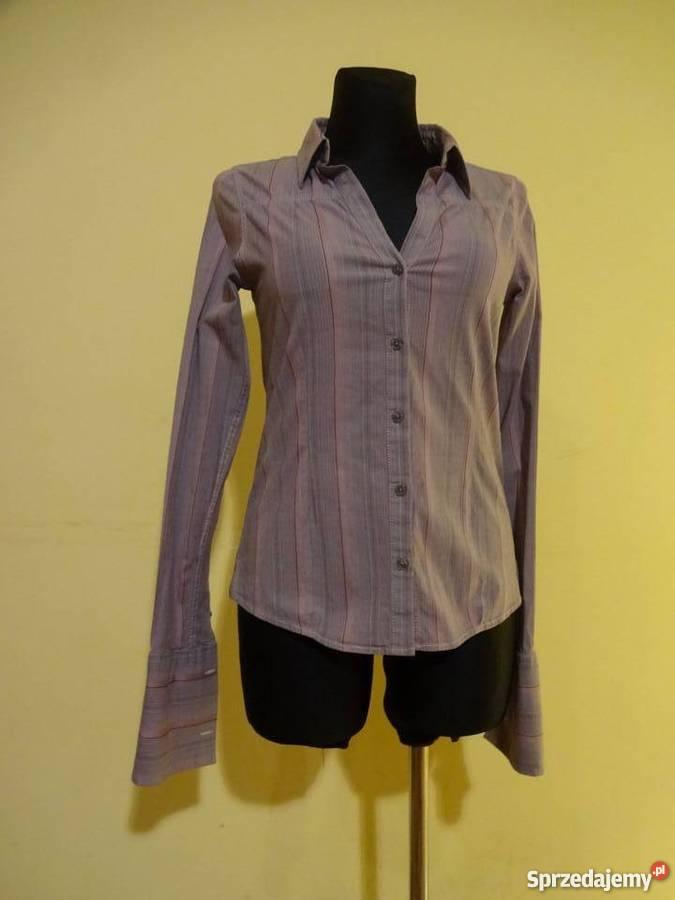 628d0460e Bluzka koszulowa taliowana marki TOMMY HILFIGER DENIM. Grójec ...