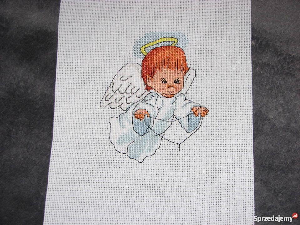 Aniołek haft krzyzykowy Czerwionka-Leszczyny