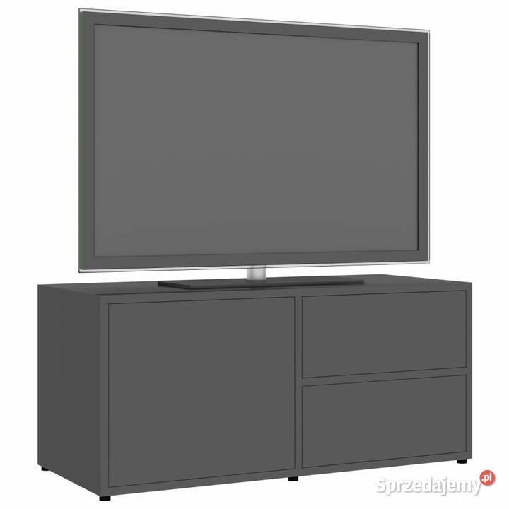 vidaXL Szafka pod TV, szara,801858