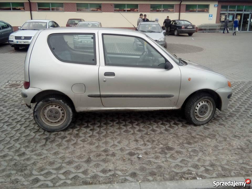 Fiat Seicento nieuszkodzony