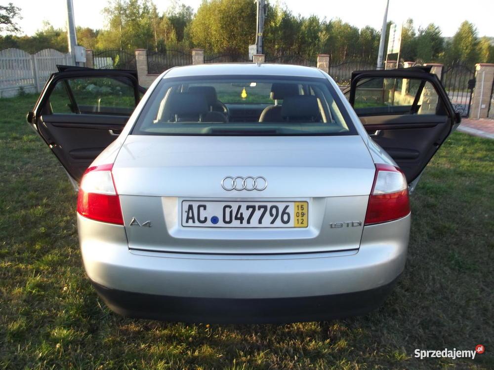Audi A4 Sprowadzone z NIEMIEC OSOBA PRYWATNA manualna Kielce