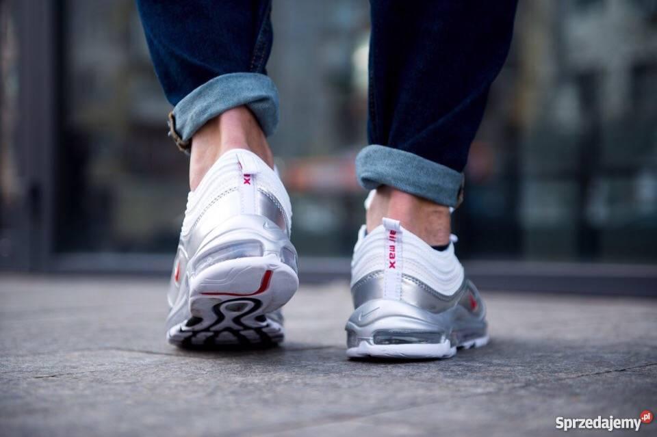 Nike Air Max 97 QS WHITEVARSITY RED r41 45 Lublin