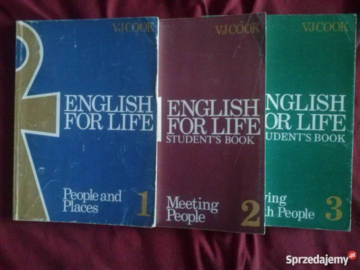 Sprzedam english for lifestudent s book V J Cook podręczniki i ćwiczenia Zawiercie sprzedam